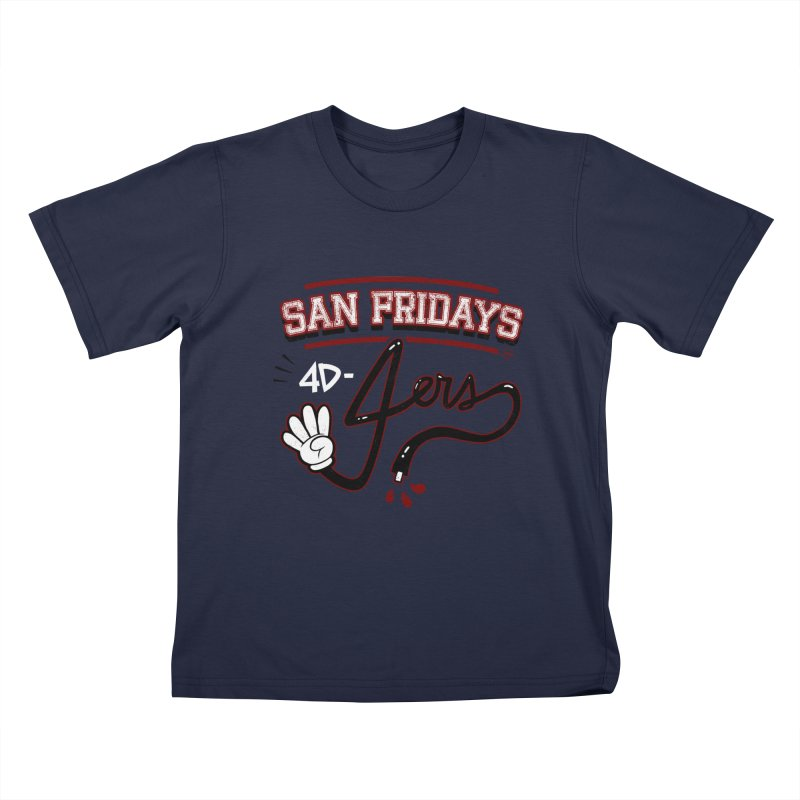 San Fridays Kids T-Shirt by jublin's Artist Shop