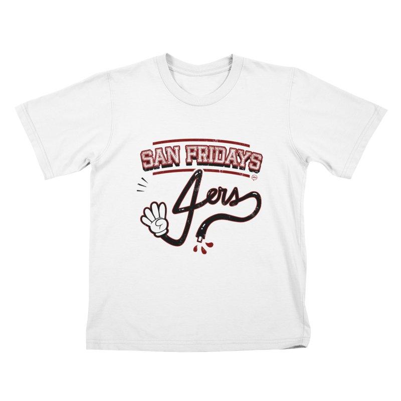 San Fridays Kids T-Shirt by jublin's Artist Shop
