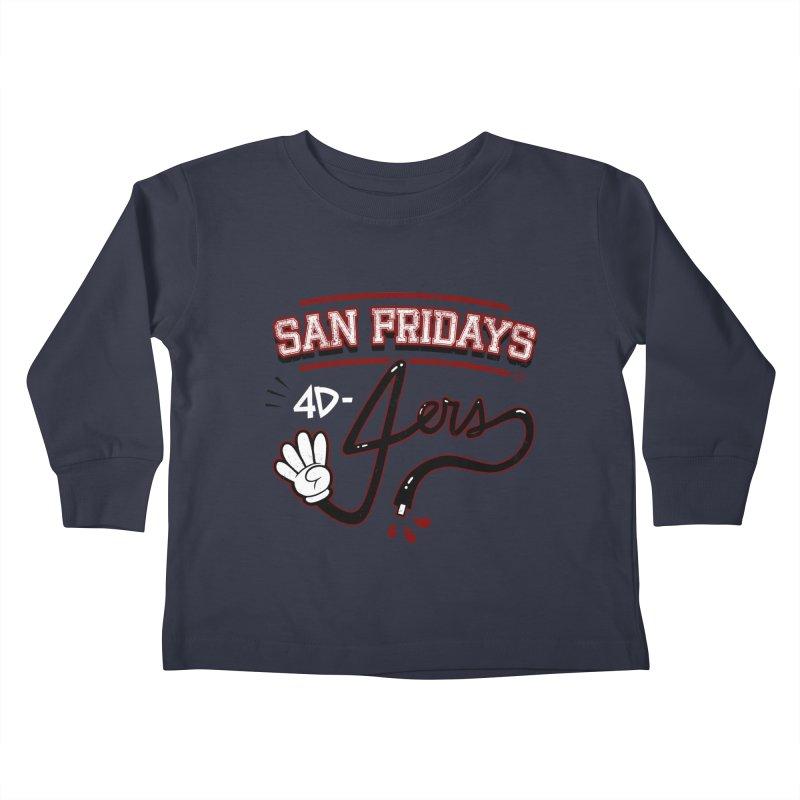 San Fridays Kids Toddler Longsleeve T-Shirt by jublin's Artist Shop