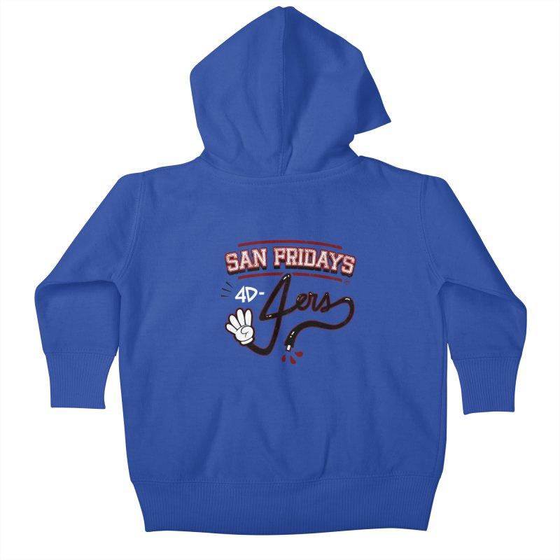 San Fridays Kids Baby Zip-Up Hoody by jublin's Artist Shop