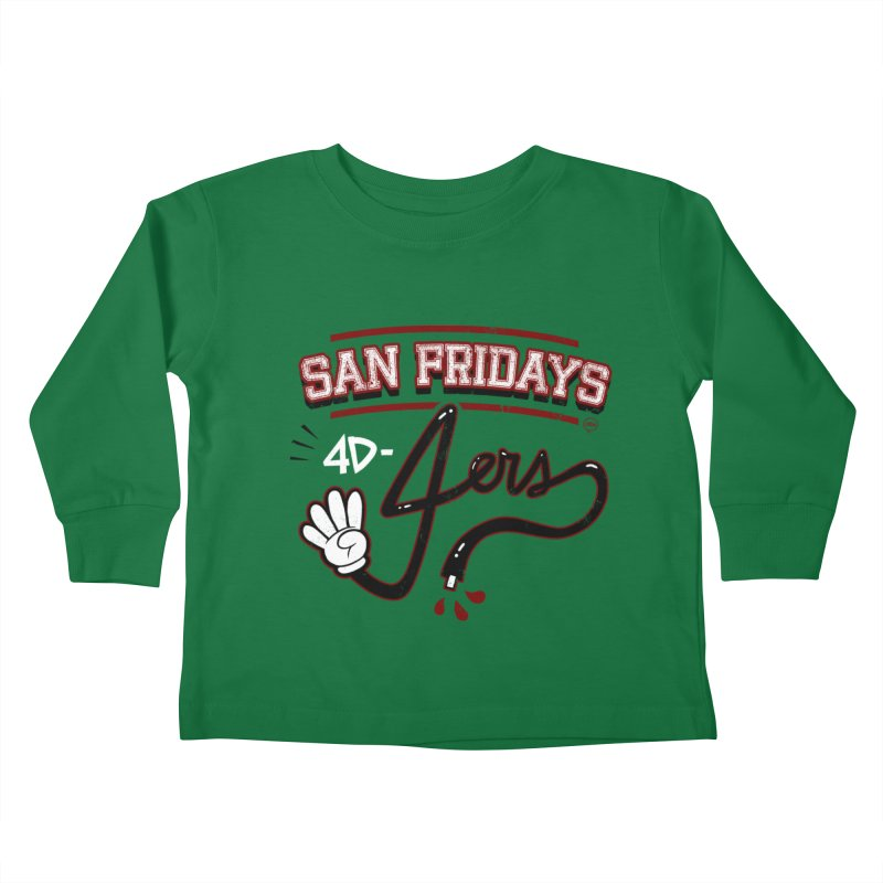 San Fridays Kids Toddler Longsleeve T-Shirt by jublin's Artist Shop
