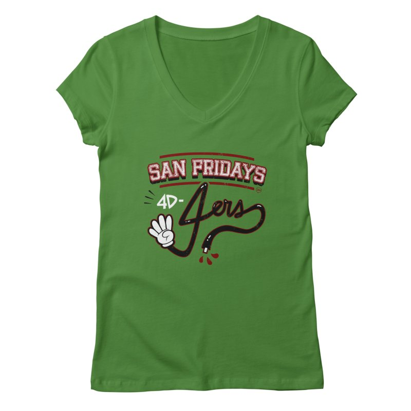 San Fridays Women's V-Neck by jublin's Artist Shop
