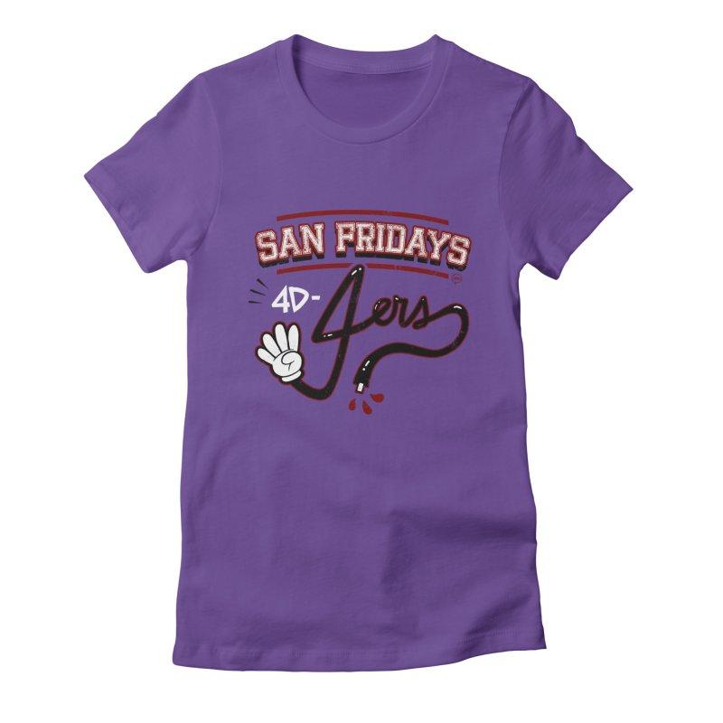 San Fridays Women's T-Shirt by jublin's Artist Shop
