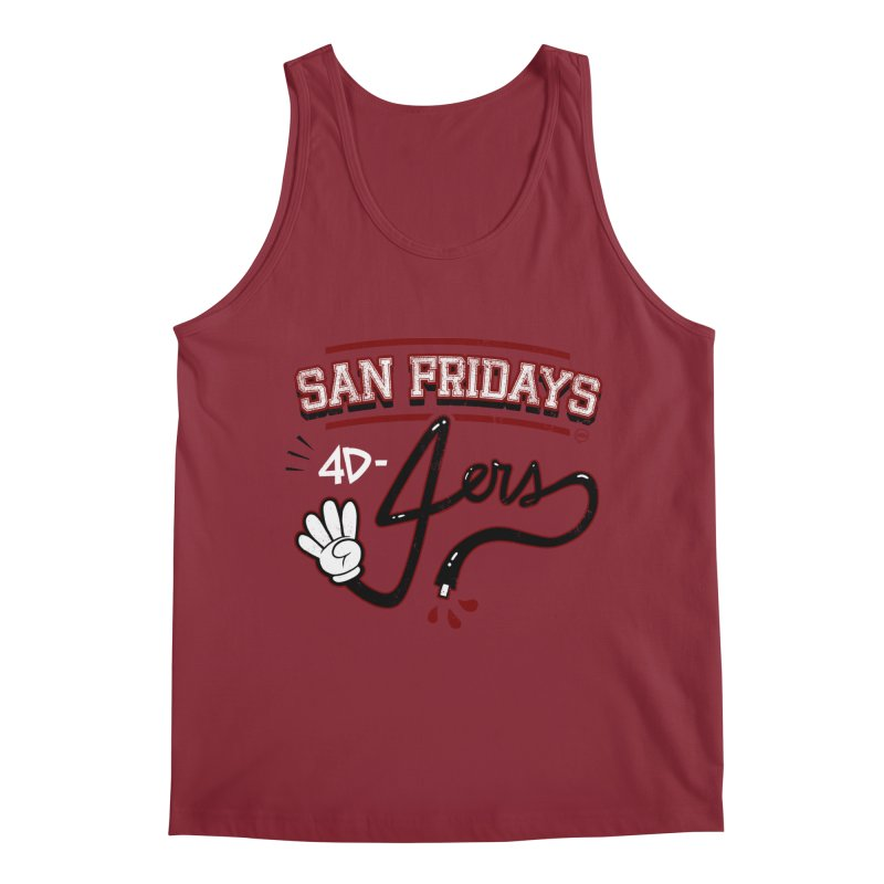 San Fridays Men's Regular Tank by jublin's Artist Shop