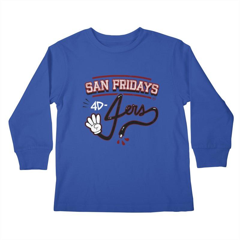 San Fridays Kids Longsleeve T-Shirt by jublin's Artist Shop