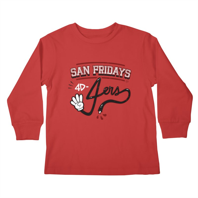 San Fridays Kids Longsleeve T-Shirt by jublin's Artist Shop