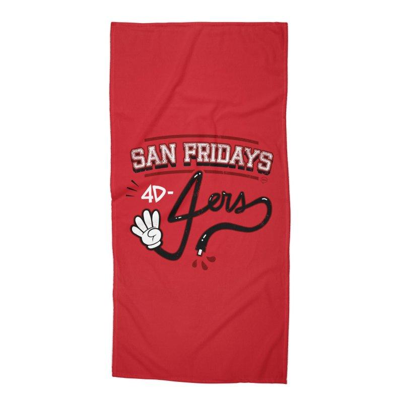 San Fridays Accessories Beach Towel by jublin's Artist Shop