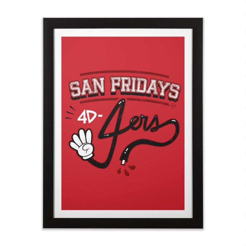 San Fridays Home Framed Fine Art Print by jublin's Artist Shop