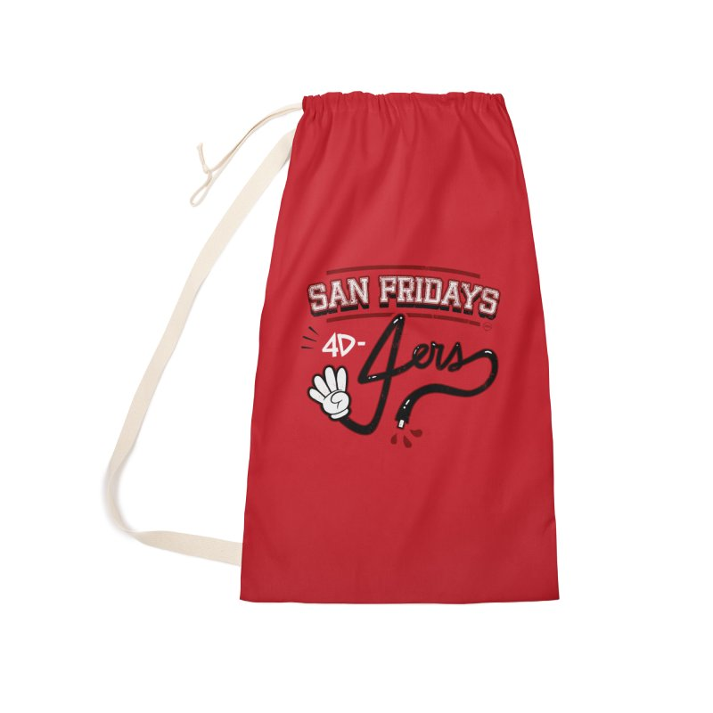 San Fridays Accessories Laundry Bag Bag by jublin's Artist Shop