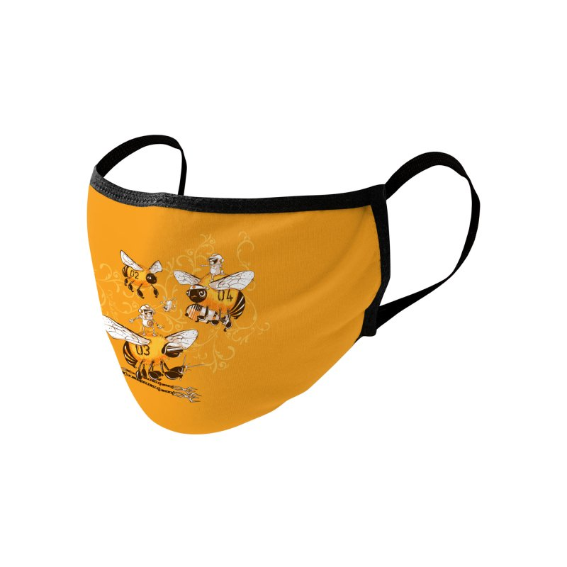 Killer Bee Killed Accessories Face Mask by jublin's Artist Shop