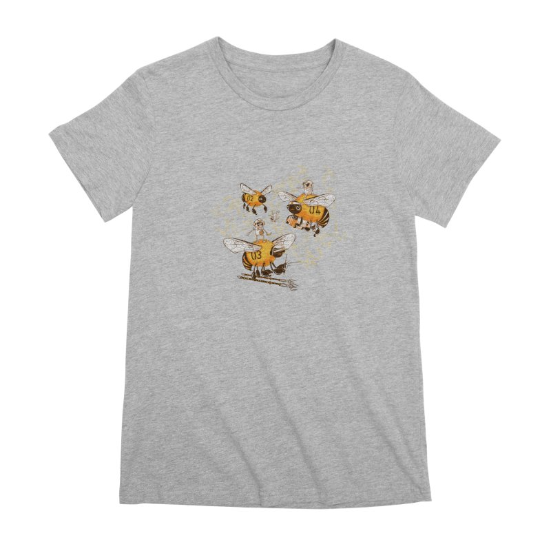 Killer Bee Killed Women's Premium T-Shirt by jublin's Artist Shop