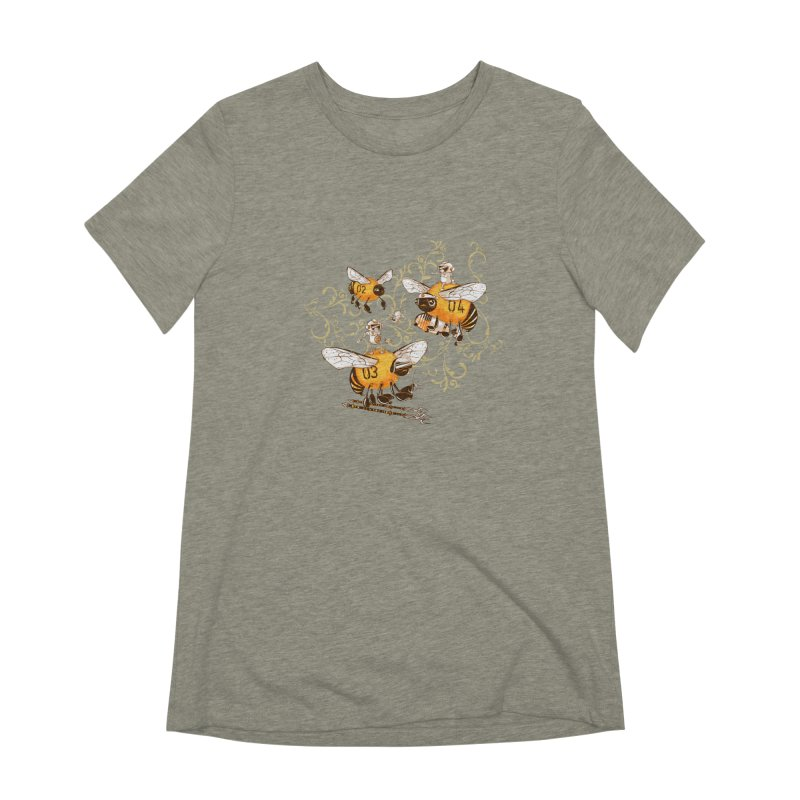 Killer Bee Killed Women's T-Shirt by jublin's Artist Shop