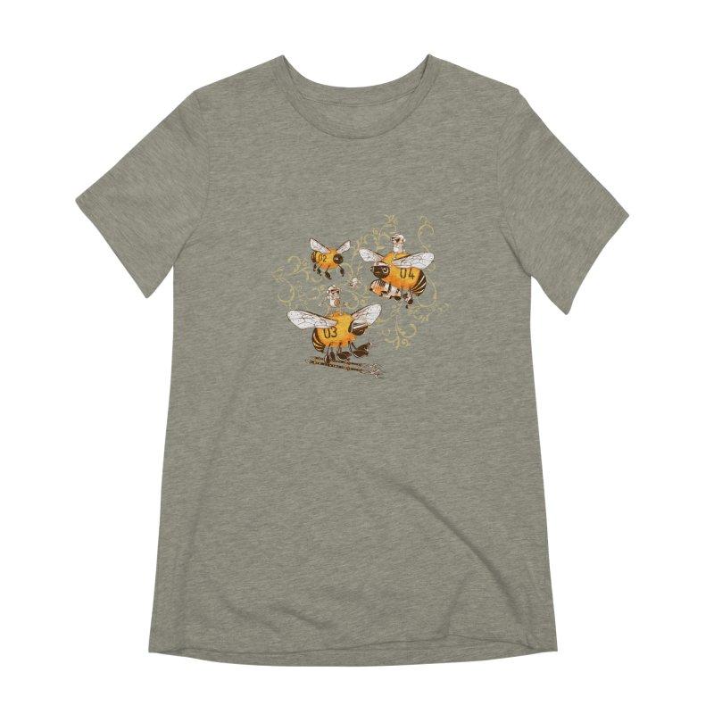 Killer Bee Killed Women's Extra Soft T-Shirt by jublin's Artist Shop
