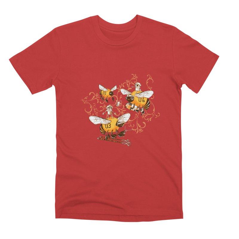 Killer Bee Killed Men's Premium T-Shirt by jublin's Artist Shop