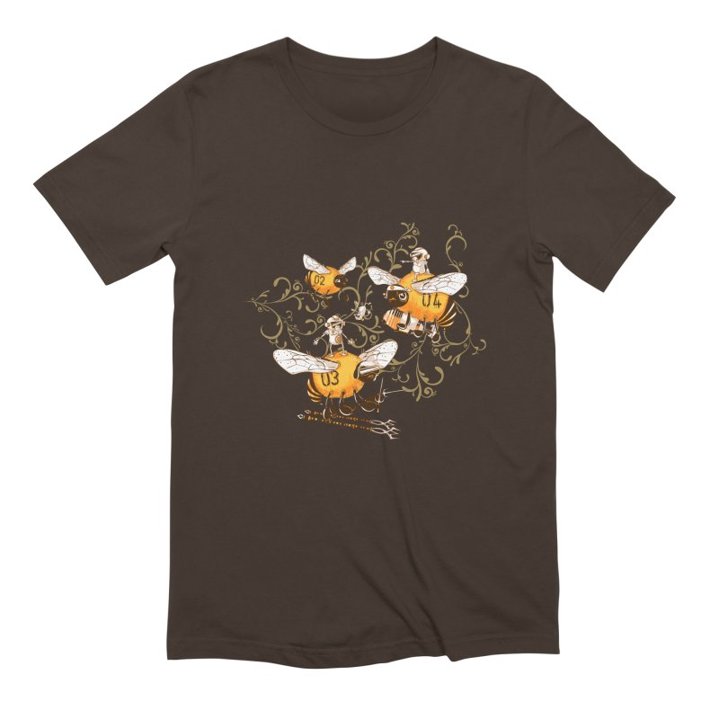 Killer Bee Killed Men's Extra Soft T-Shirt by jublin's Artist Shop