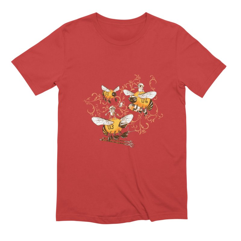 Killer Bee Killed Men's Extra Soft T-Shirt by jublin's Artist Shop