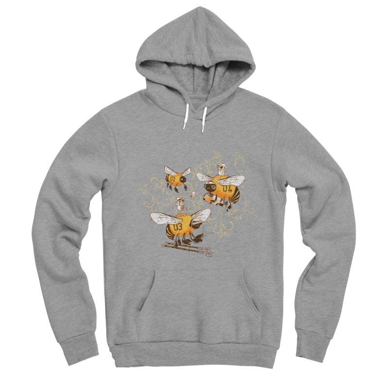 Killer Bee Killed Men's Sponge Fleece Pullover Hoody by jublin's Artist Shop