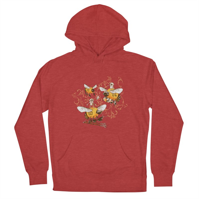 Killer Bee Killed Women's French Terry Pullover Hoody by jublin's Artist Shop