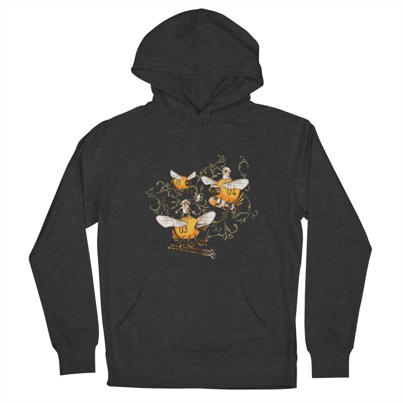 Killer Bee Killed Men's French Terry Pullover Hoody by jublin's Artist Shop