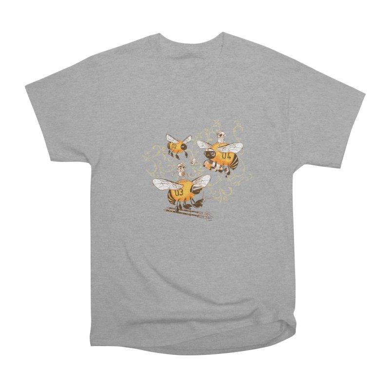 Killer Bee Killed Men's Heavyweight T-Shirt by jublin's Artist Shop