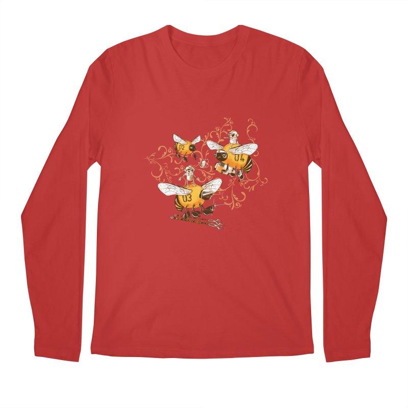 Killer Bee Killed Men's Regular Longsleeve T-Shirt by jublin's Artist Shop