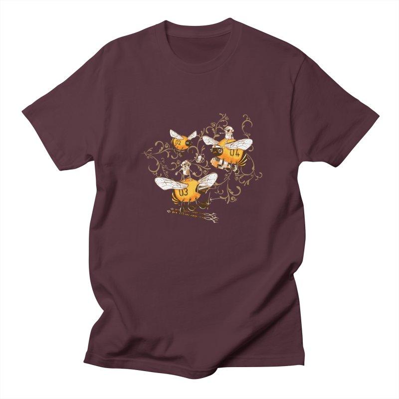 Killer Bee Killed Men's Regular T-Shirt by jublin's Artist Shop