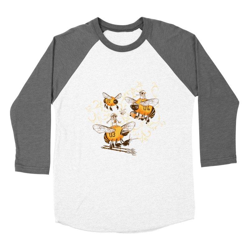 Killer Bee Killed Women's Baseball Triblend Longsleeve T-Shirt by jublin's Artist Shop