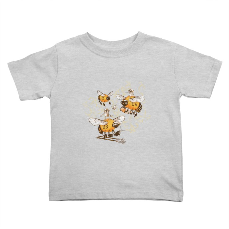 Killer Bee Killed Kids Toddler T-Shirt by jublin's Artist Shop