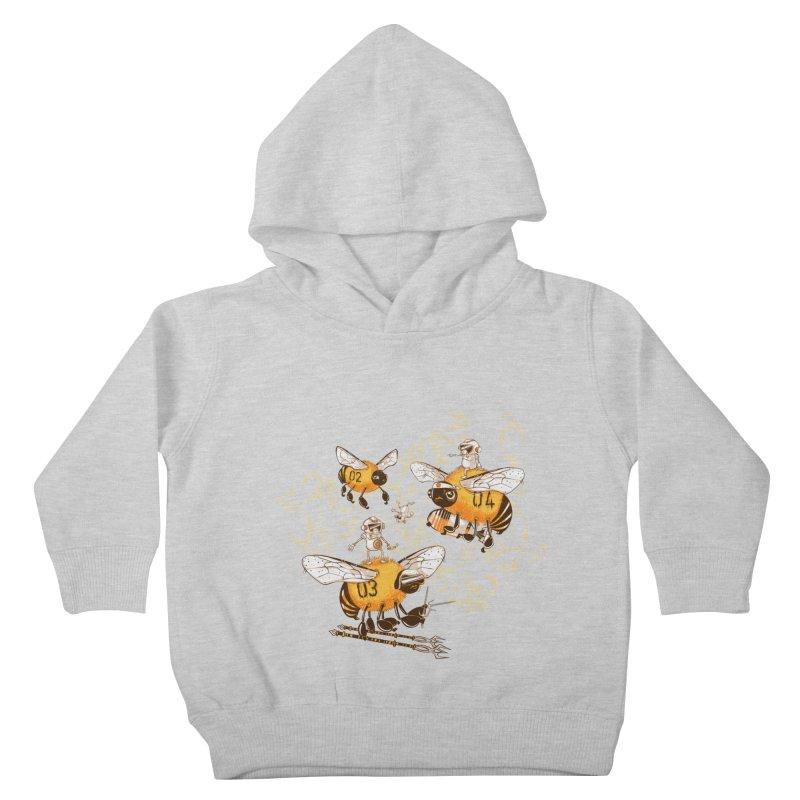 Killer Bee Killed Kids Toddler Pullover Hoody by jublin's Artist Shop