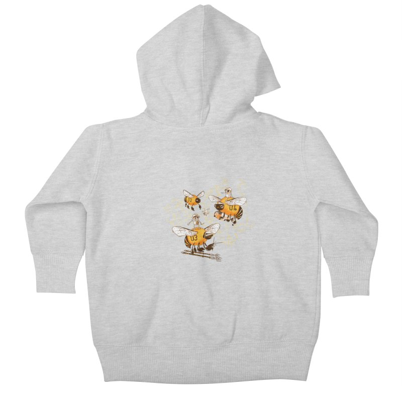 Killer Bee Killed Kids Baby Zip-Up Hoody by jublin's Artist Shop