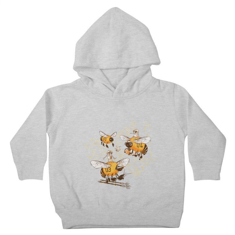 Killer Bee Killed Kids Toddler Pullover Hoody by jublin's Artist Shop