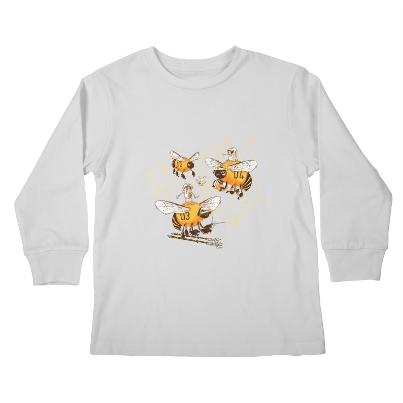 Killer Bee Killed Kids Longsleeve T-Shirt by jublin's Artist Shop