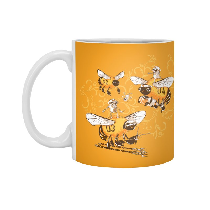 Killer Bee Killed Accessories Standard Mug by jublin's Artist Shop