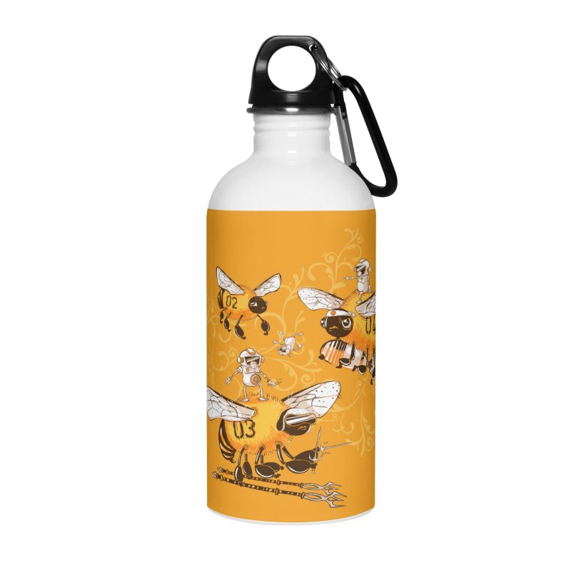 Killer Bee Killed Accessories Water Bottle by jublin's Artist Shop