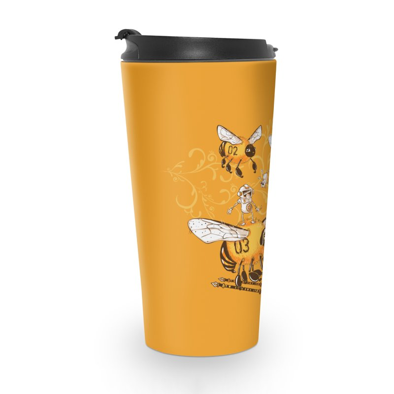 Killer Bee Killed Accessories Travel Mug by jublin's Artist Shop