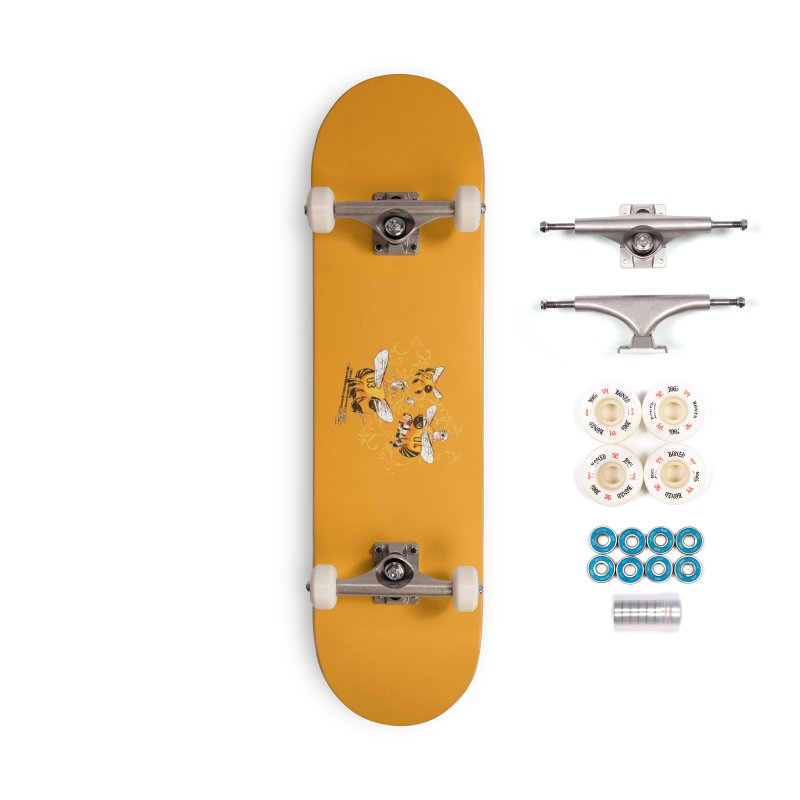 Killer Bee Killed Accessories Complete - Premium Skateboard by jublin's Artist Shop
