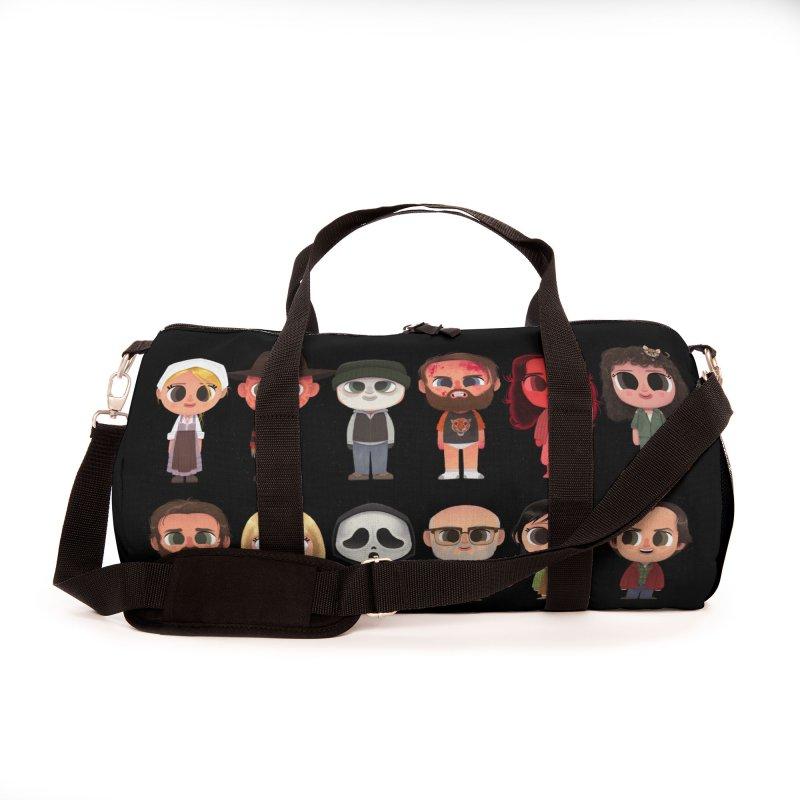 Creepy Cuties Accessories Bag by jublin's Artist Shop