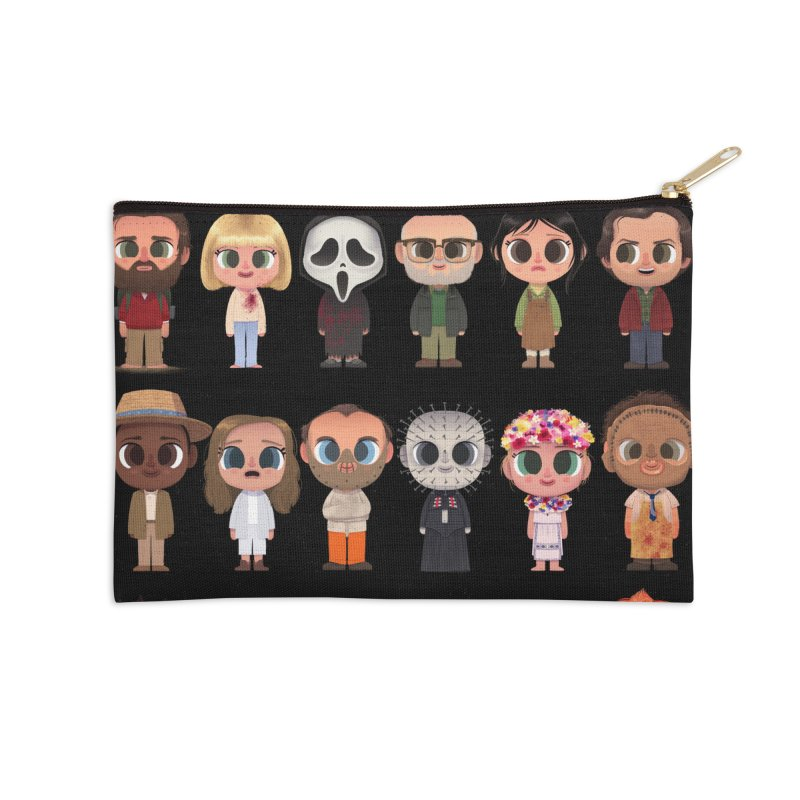 Creepy Cuties Accessories Zip Pouch by jublin's Artist Shop