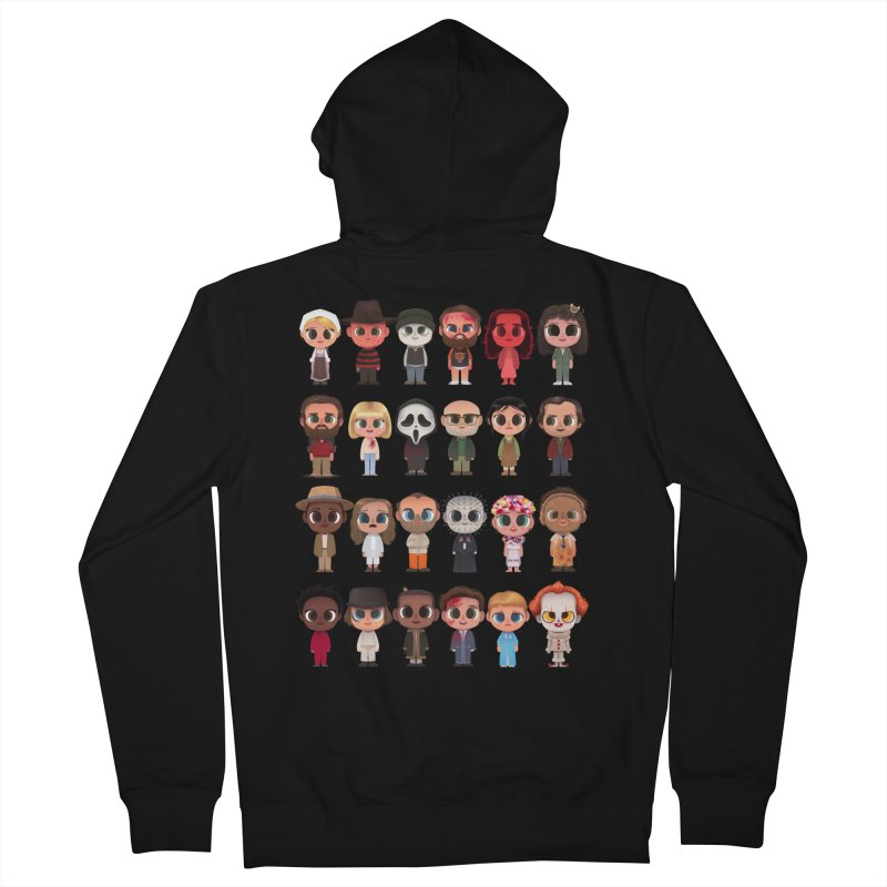 Creepy Cuties Women's French Terry Zip-Up Hoody by jublin's Artist Shop