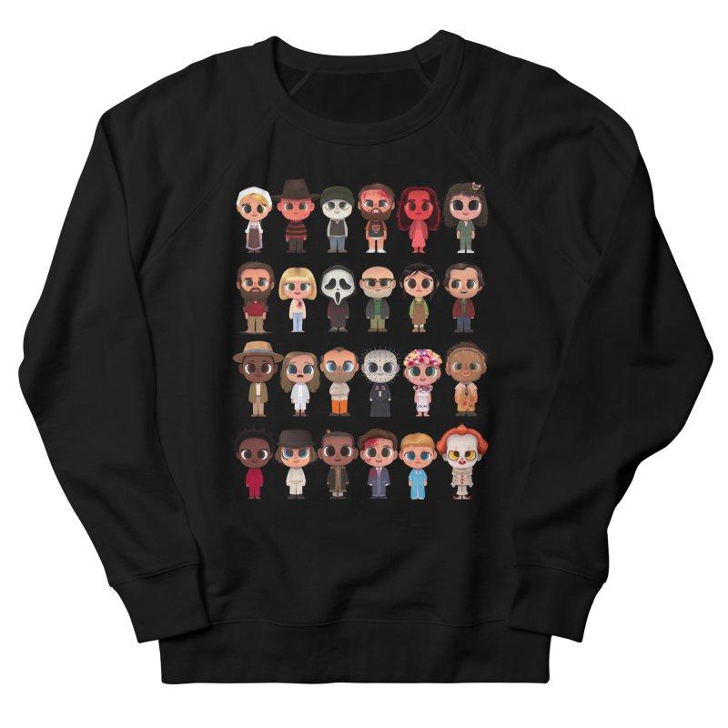 Creepy Cuties Men's French Terry Sweatshirt by jublin's Artist Shop