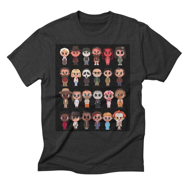 Creepy Cuties Men's Triblend T-Shirt by jublin's Artist Shop