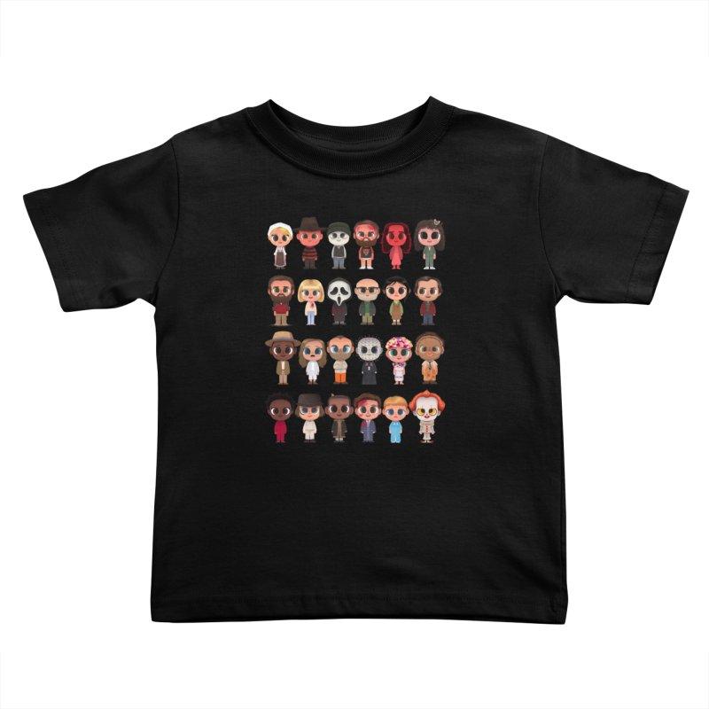 Creepy Cuties Kids Toddler T-Shirt by jublin's Artist Shop