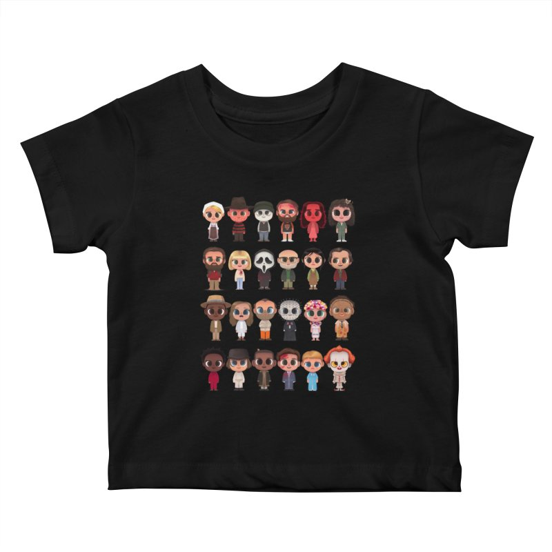 Creepy Cuties Kids Baby T-Shirt by jublin's Artist Shop