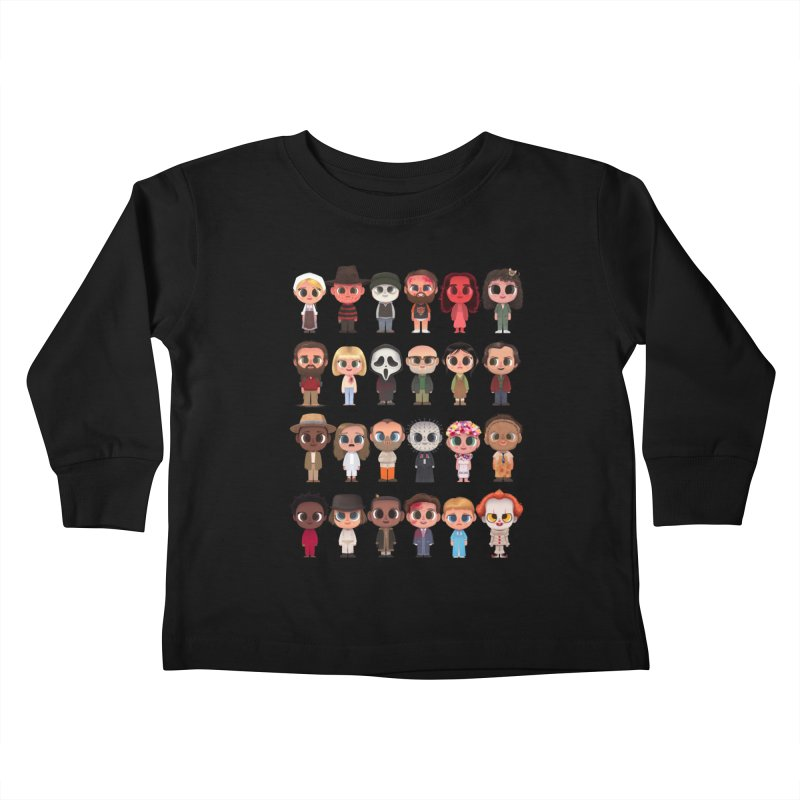 Creepy Cuties Kids Toddler Longsleeve T-Shirt by jublin's Artist Shop