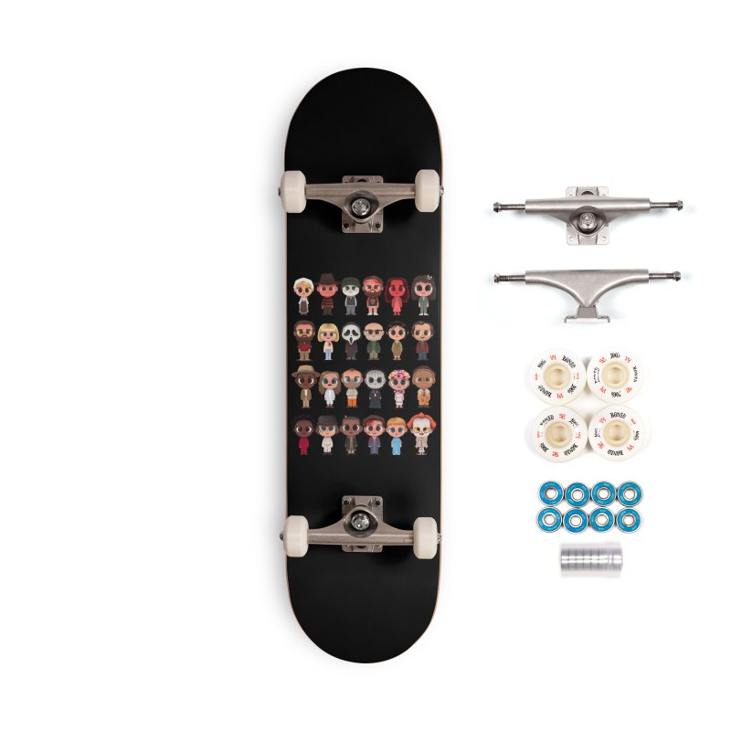 Creepy Cuties Accessories Complete - Premium Skateboard by jublin's Artist Shop