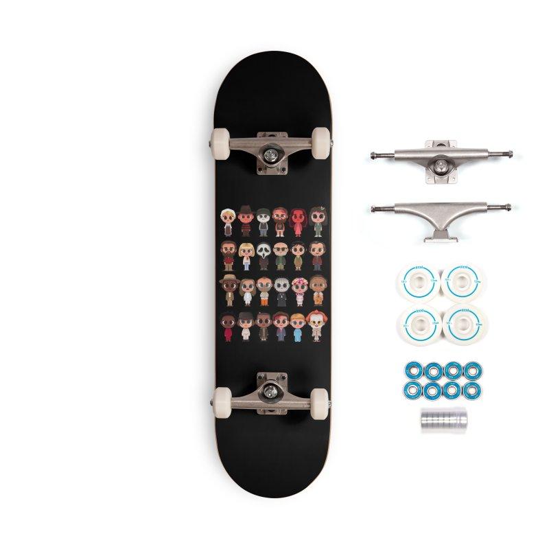 Creepy Cuties Accessories Complete - Basic Skateboard by jublin's Artist Shop