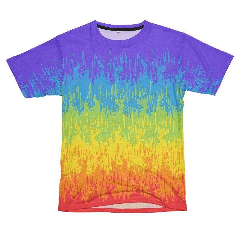 Rainbow Meltdown Women's Cut & Sew by jublin's Artist Shop