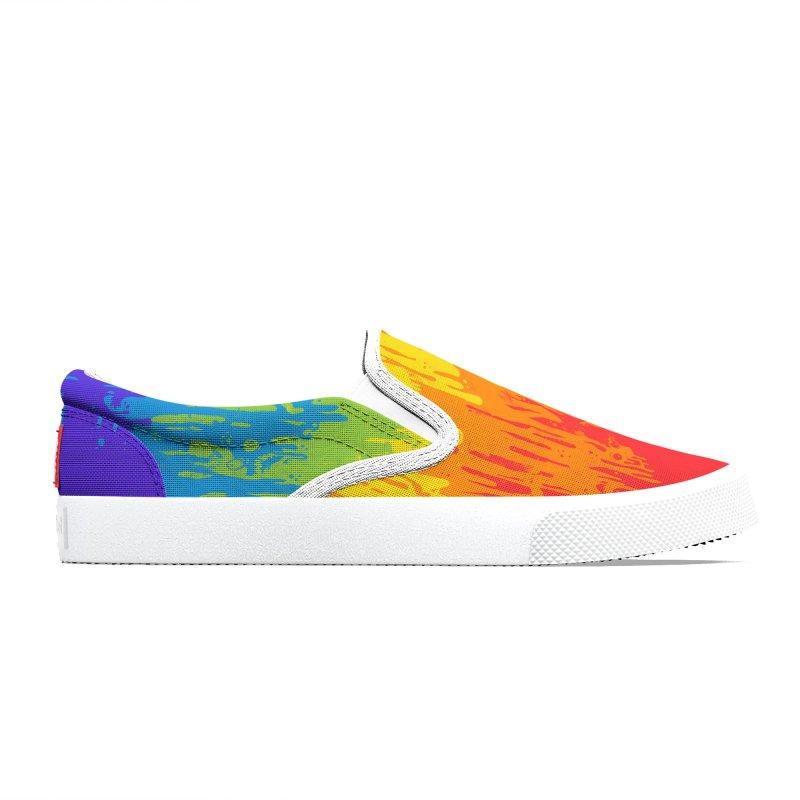 Rainbow Meltdown Women's Shoes by jublin's Artist Shop