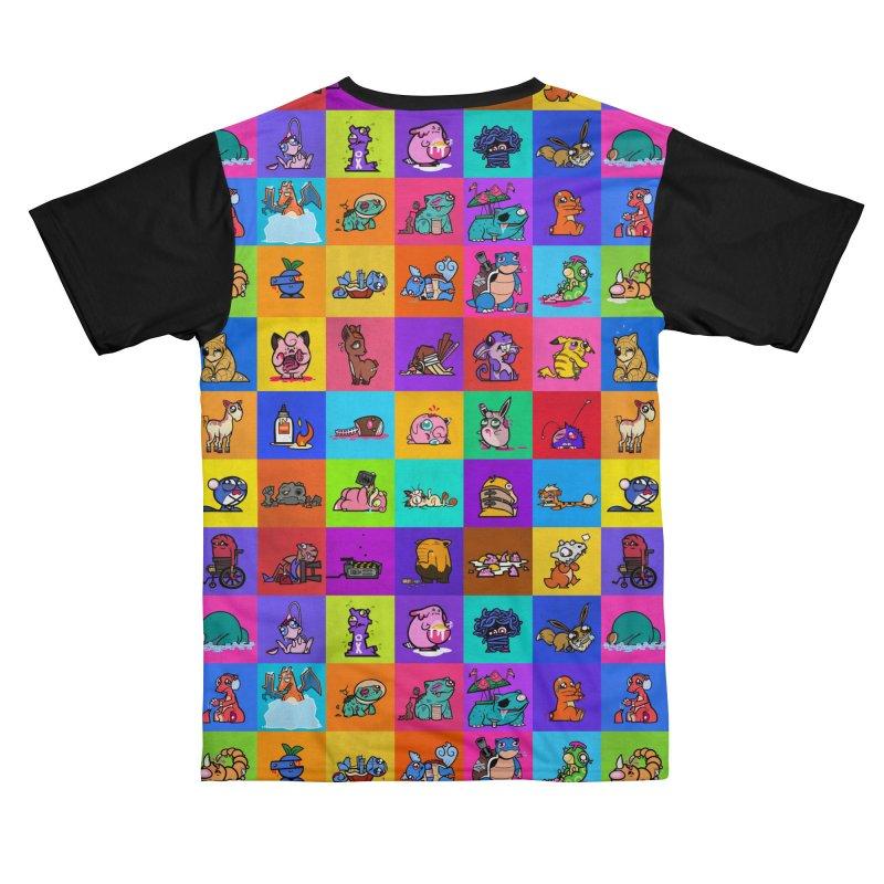 Sad Little Monsters Men's Cut & Sew by jublin's Artist Shop