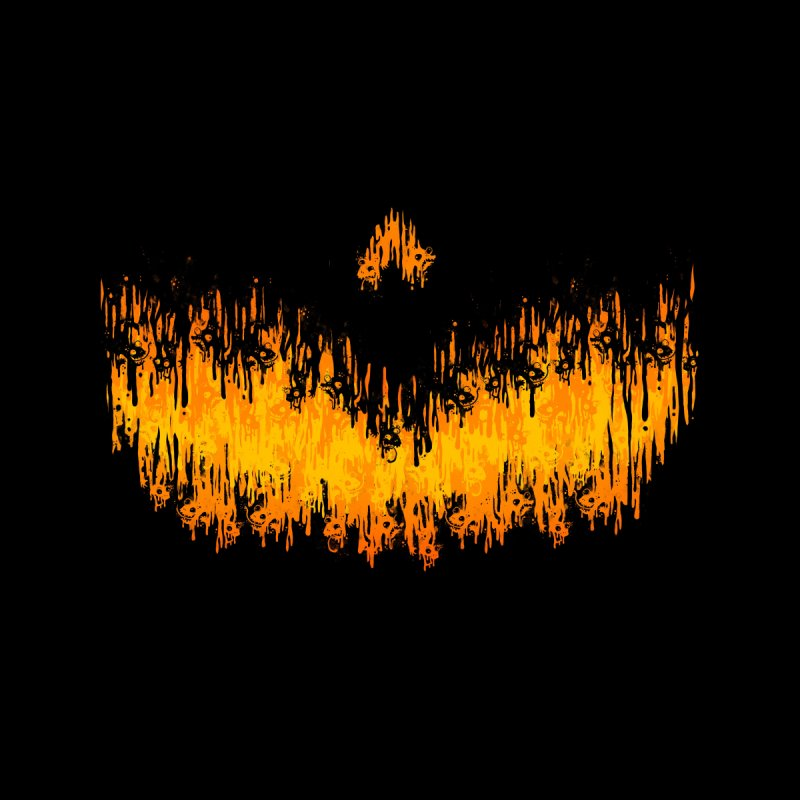 Haunted Meltdown Men's T-Shirt by jublin's Artist Shop